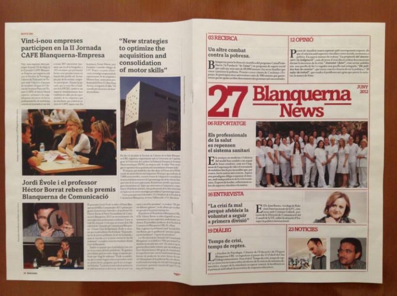 Rediseño revista Blanquerna 10