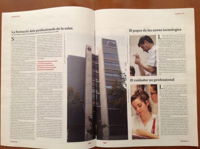 Rediseño revista Blanquerna 5