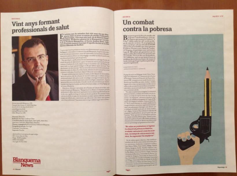 Rediseño revista Blanquerna 3