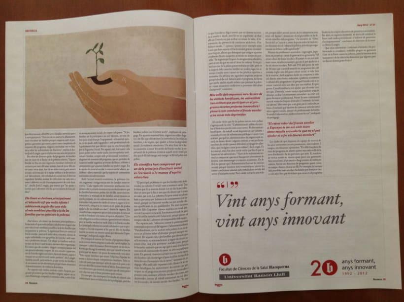 Rediseño revista Blanquerna 4