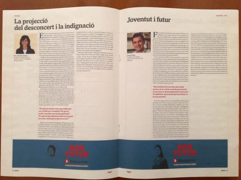 Rediseño revista Blanquerna 7