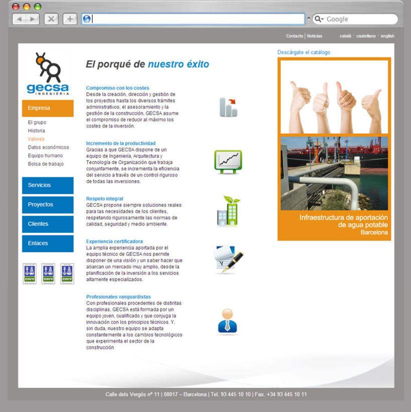 Web Html Gecsa 2