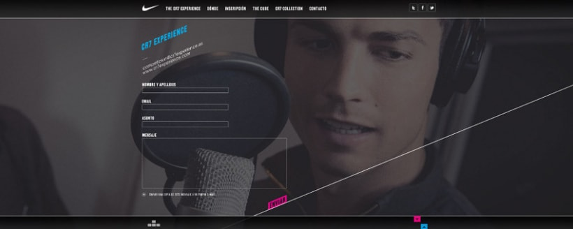 Nike CR7 Experience Website 6