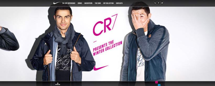 Nike CR7 Experience Website 5
