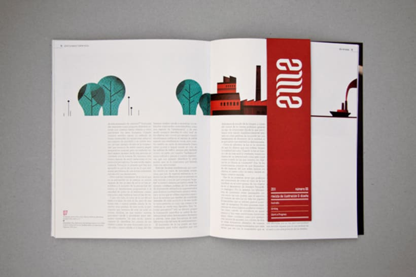 EME Magazine. Experimental Illustration & Design 4