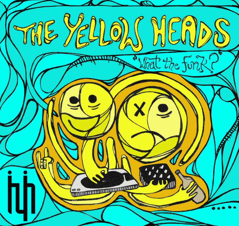 "Portada vinilo ""The Yellow Heads"" 1"