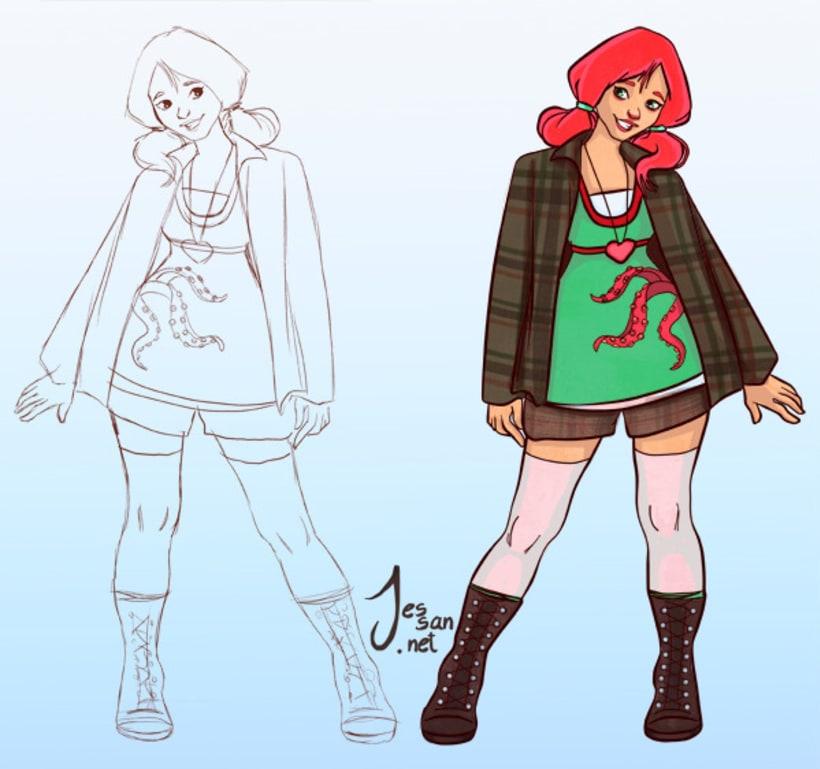 Personajes, Concepts 5
