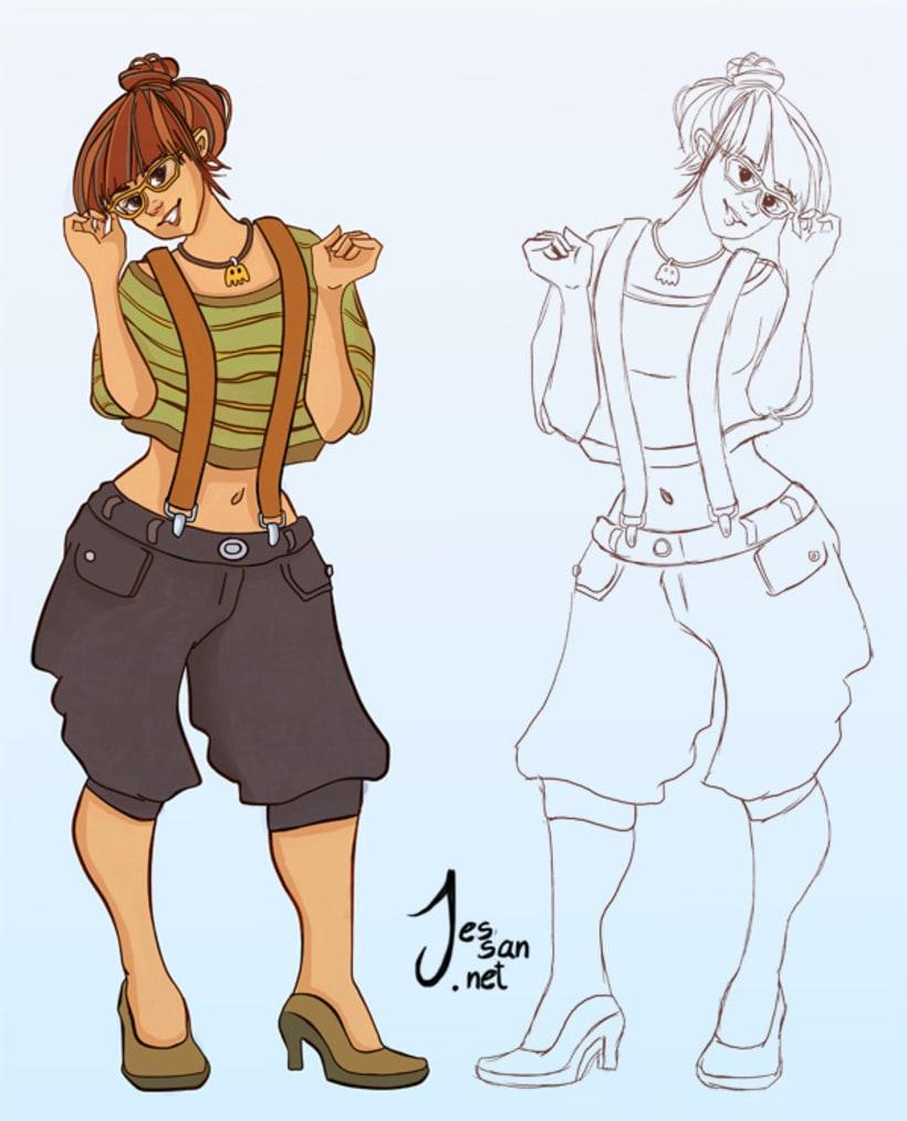 Personajes, Concepts 3