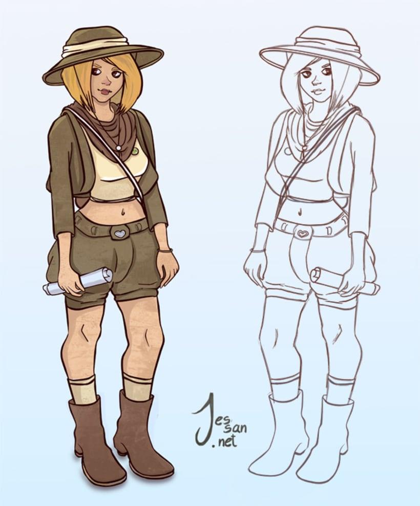 Personajes, Concepts 4