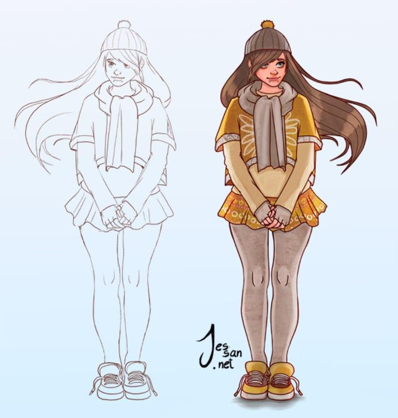 Personajes, Concepts 2