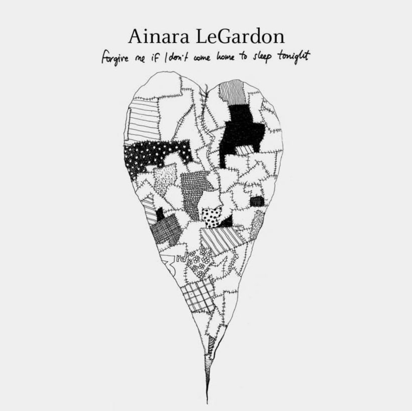 "Ainara LeGardon ""Forgive me If I don't Come Home to Sleep Tonight"" 2"