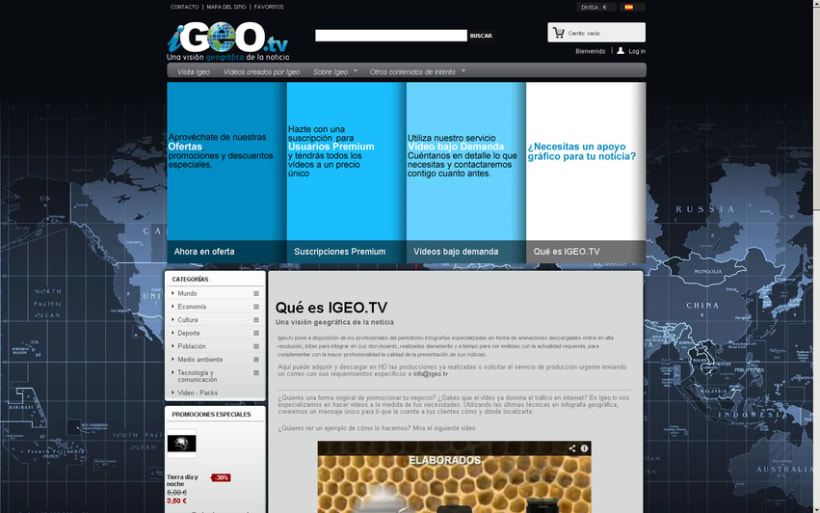 Tienda Igeo.tv 2