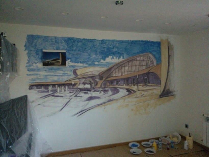 Mural JFK Terminal 5 3