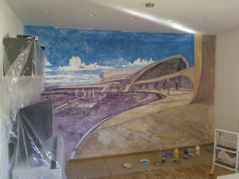 Mural JFK Terminal 5 4