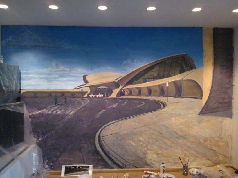 Mural JFK Terminal 5 6