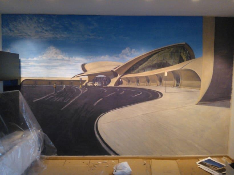 Mural JFK Terminal 5 7