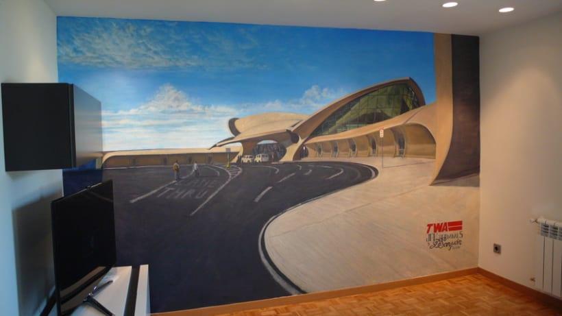 Mural JFK Terminal 5 8