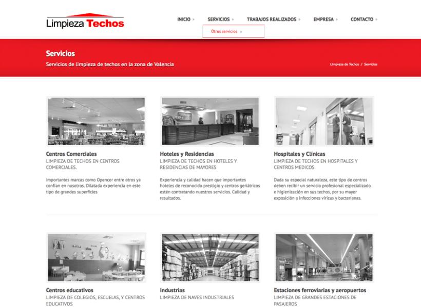 Diseño Web - Serviman Levante 2
