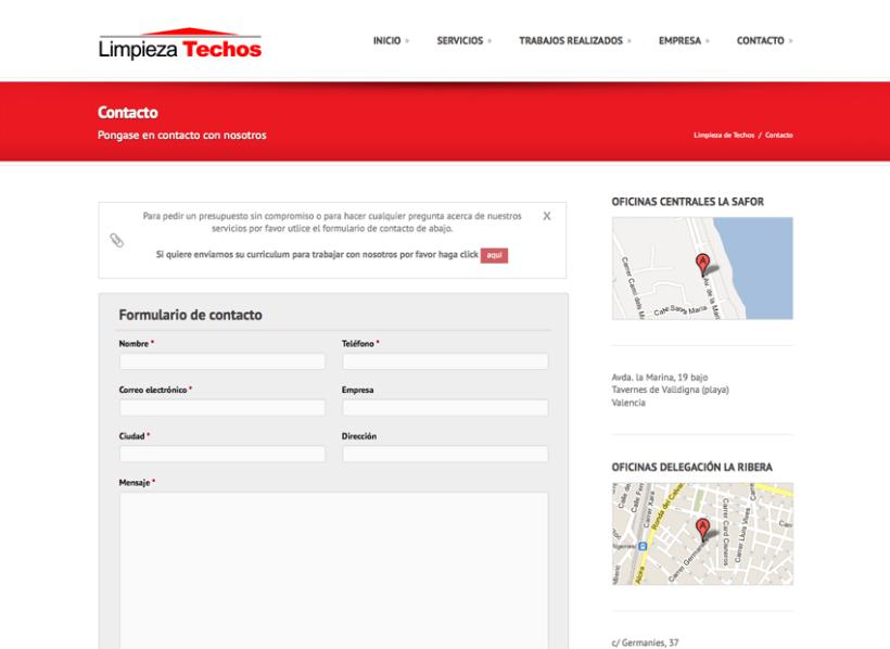 Diseño Web - Serviman Levante 3
