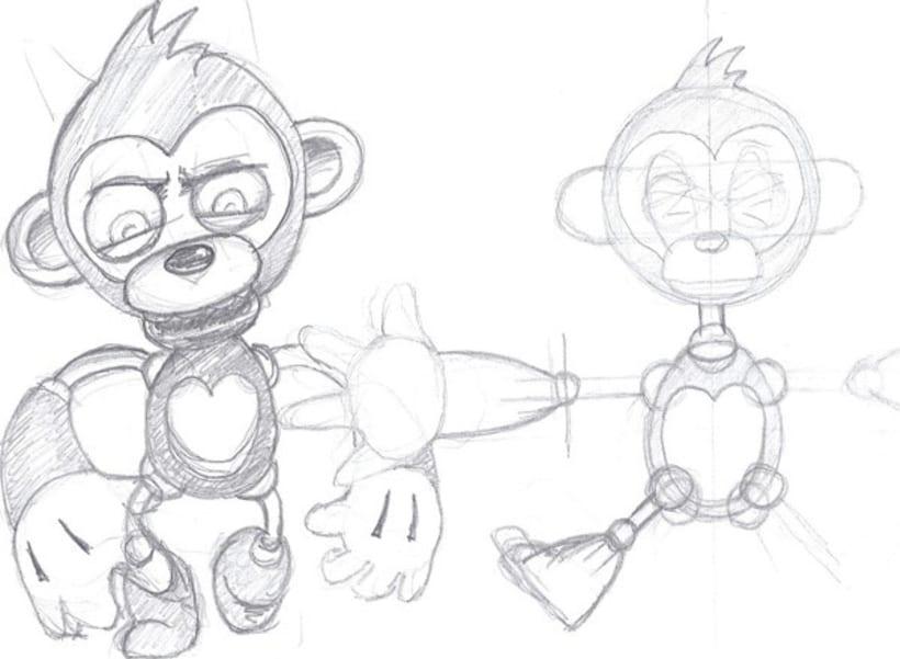 Rigging & animation test 1
