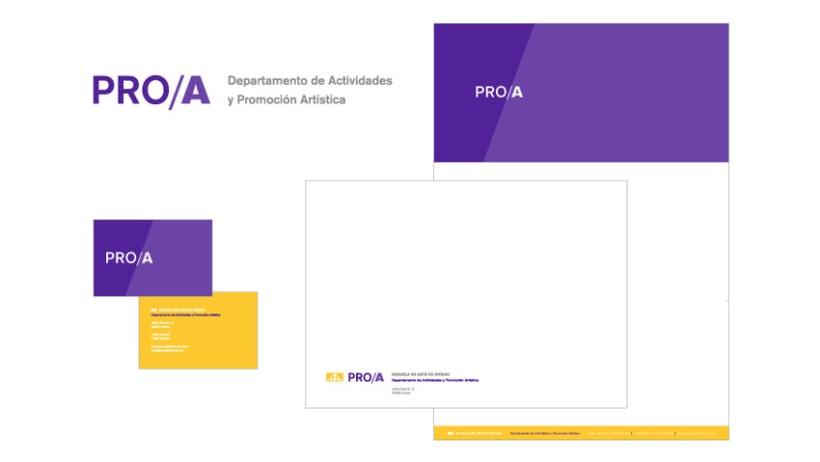 PRO/A, Departamento de Actividades y Promoción Artística 2