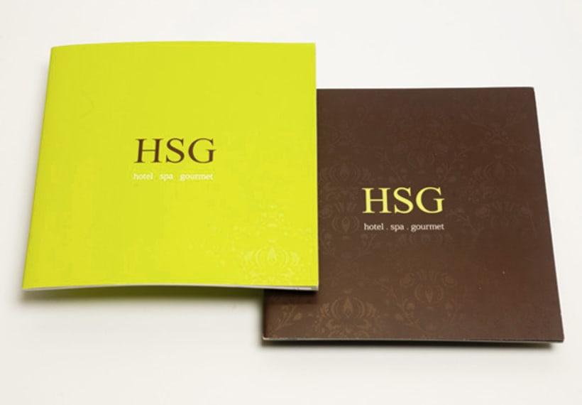 Broshure para Hotel San Giacomo - HSG - 2