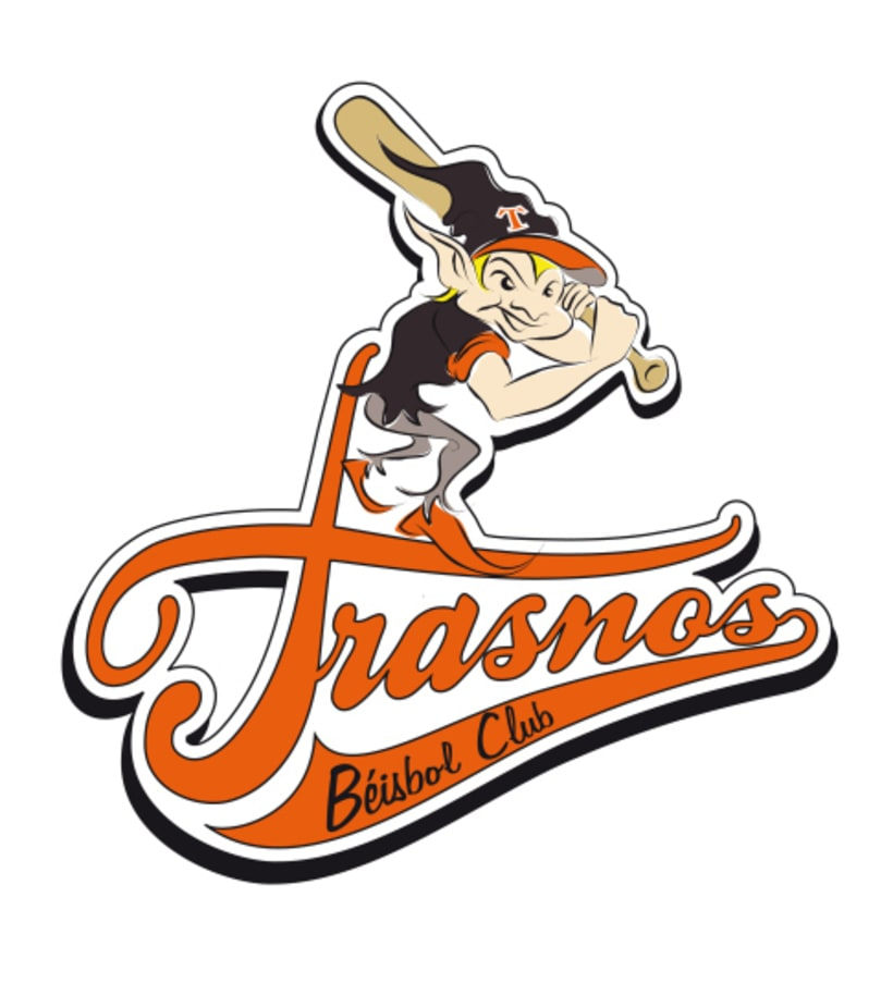 Logotipos Trasnos Béisbol Club 4
