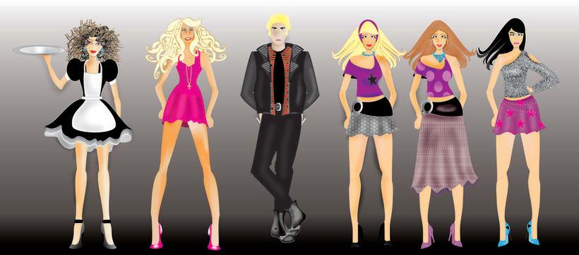 diseño de figurines 5
