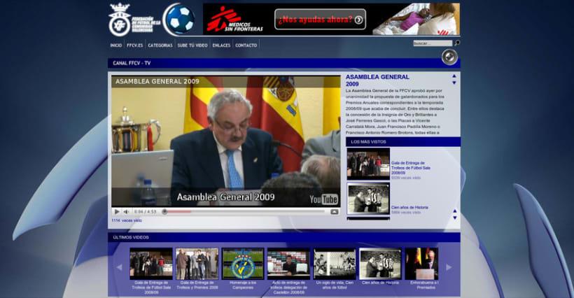 Web de la Federación de Fútbol de la Comunidad Valenciana 6