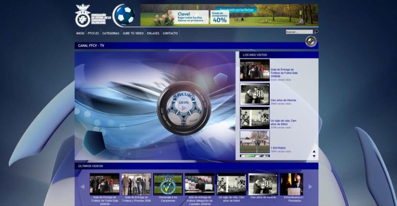 Web de la Federación de Fútbol de la Comunidad Valenciana 5