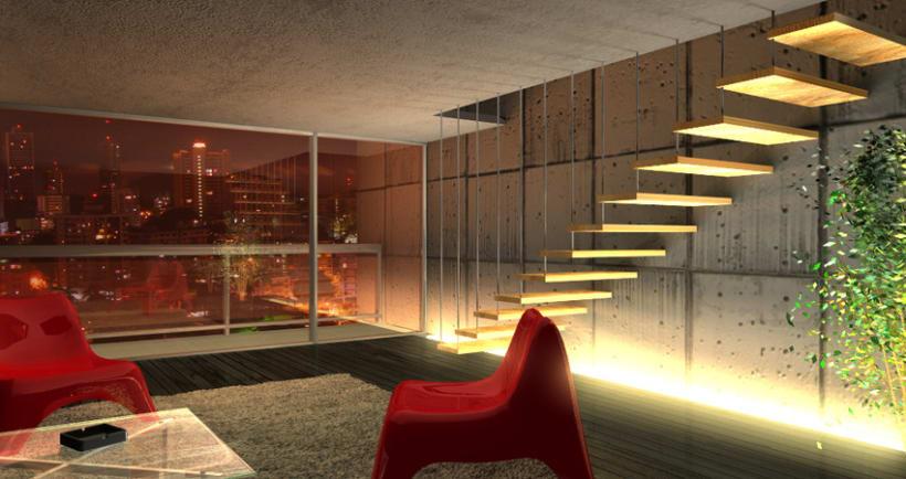 dise o y espacios 3d domestika