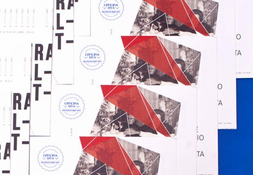 """Proyecto de corporate para la exposición colectiva """"New Tradicional Project""""* 5"""