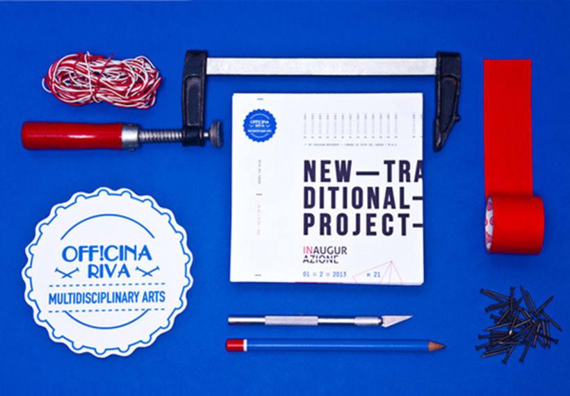 """Proyecto de corporate para la exposición colectiva """"New Tradicional Project""""* 0"""