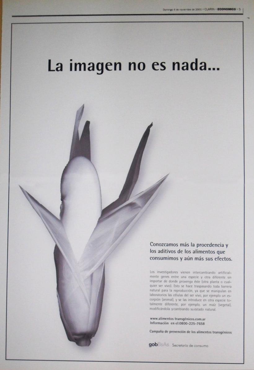 Campaña publicitaria contra alimentos transgénicos del Gobierno de la Ciudad de Buenos Aires 6