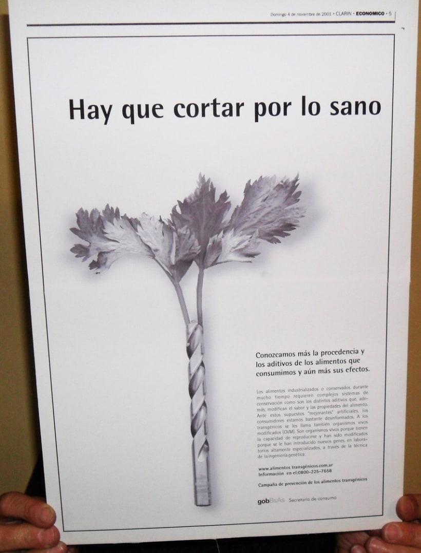 Campaña publicitaria contra alimentos transgénicos del Gobierno de la Ciudad de Buenos Aires 5