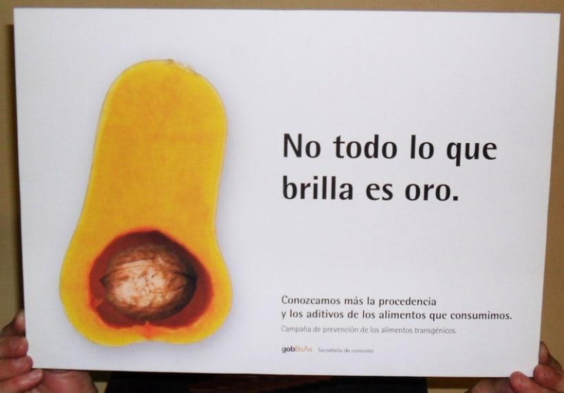 Campaña publicitaria contra alimentos transgénicos del Gobierno de la Ciudad de Buenos Aires 4