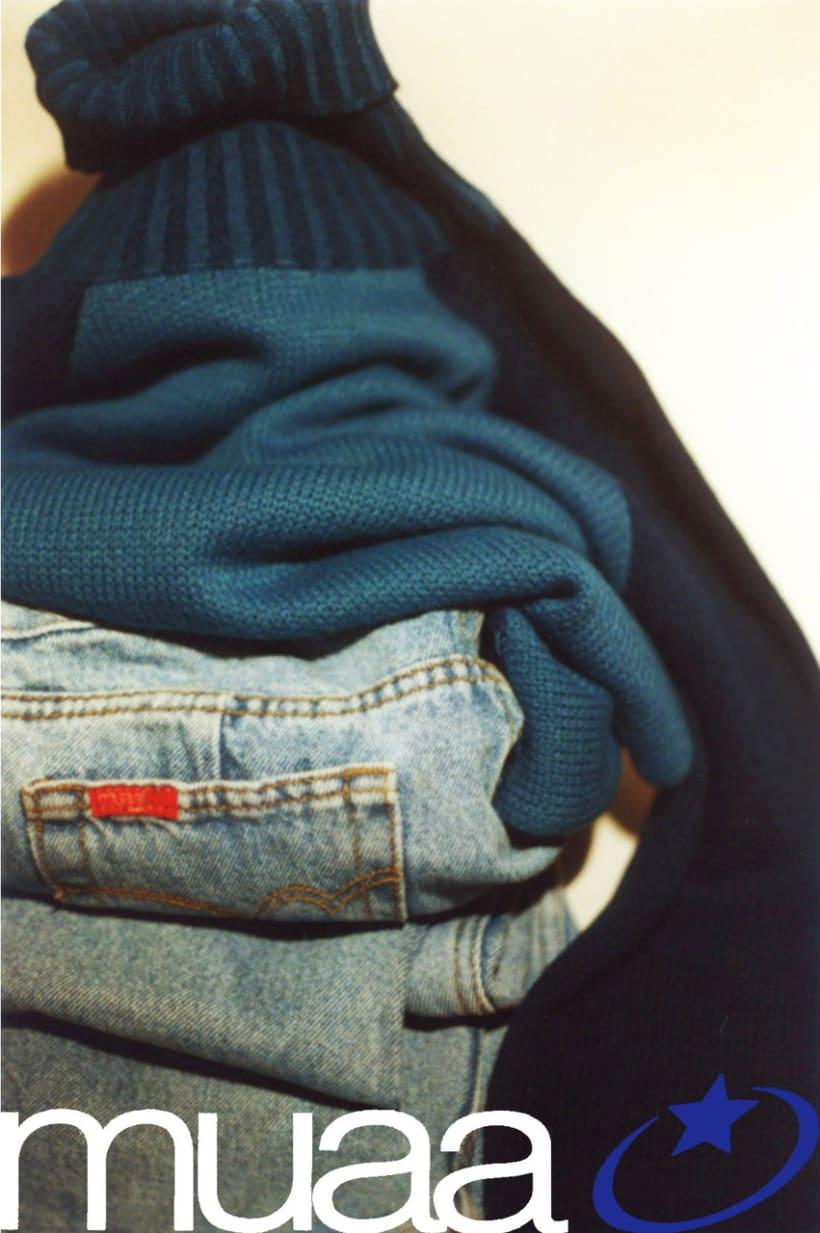 Campaña publicitaria de una marca de ropa 2