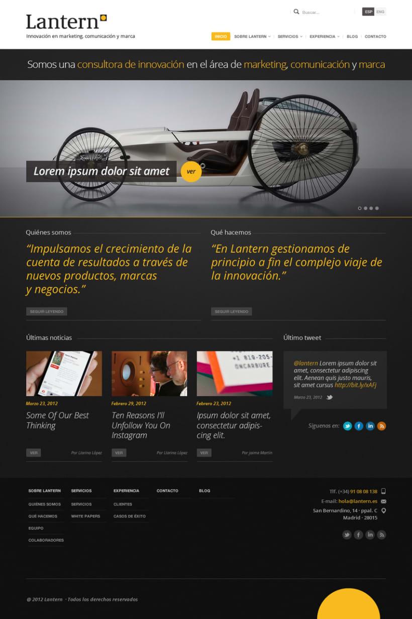 Lantern - Website 2