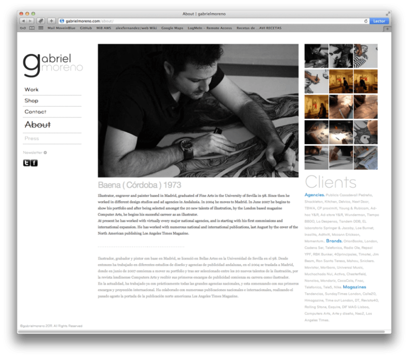 Gabriel Moreno - Website 3