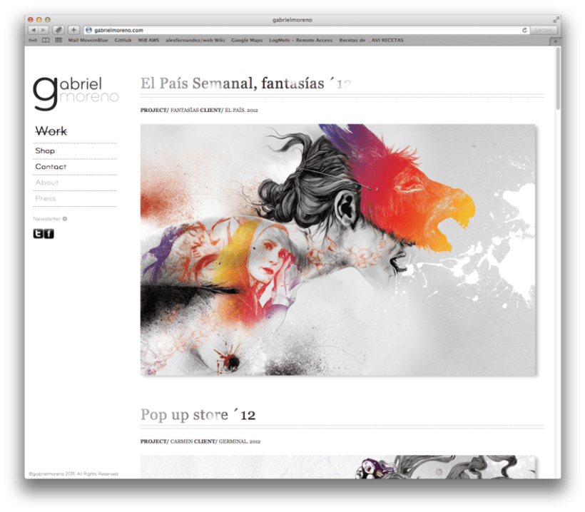 Gabriel Moreno - Website 2