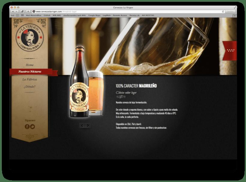 Cervezas La Virgen 3