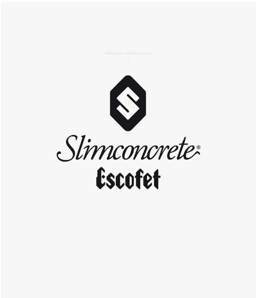 Identidad Slimconcrete by Escofet 5