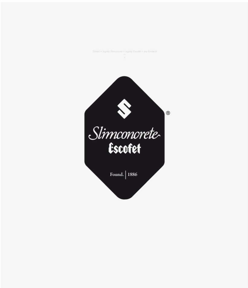 Identidad Slimconcrete by Escofet 7