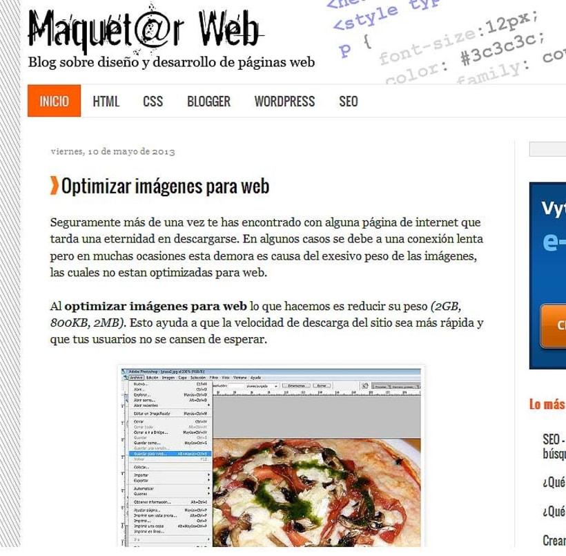 Maquetar Web 2