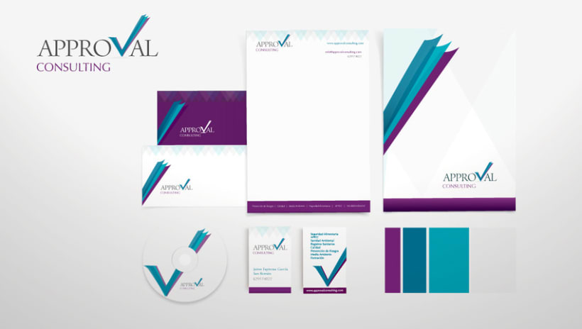 Identidad Corporativa Approval Consulting 1