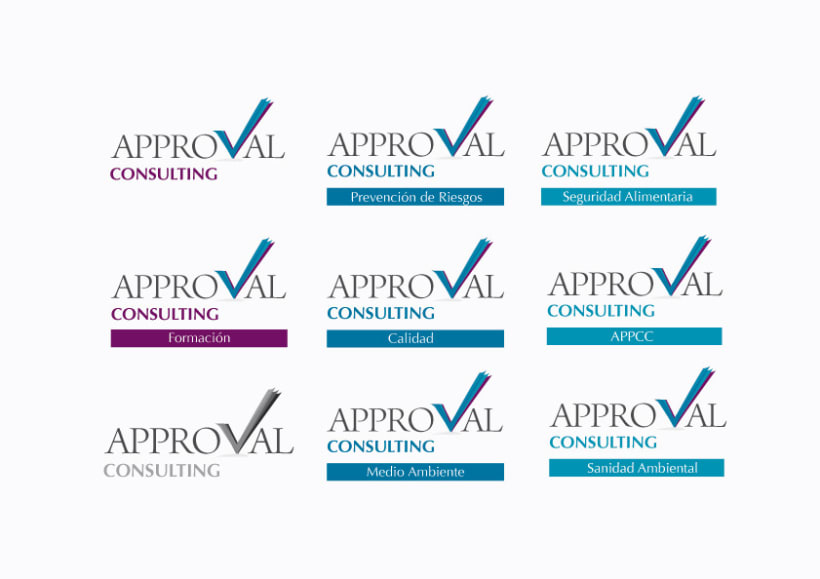 Identidad Corporativa Approval Consulting 4
