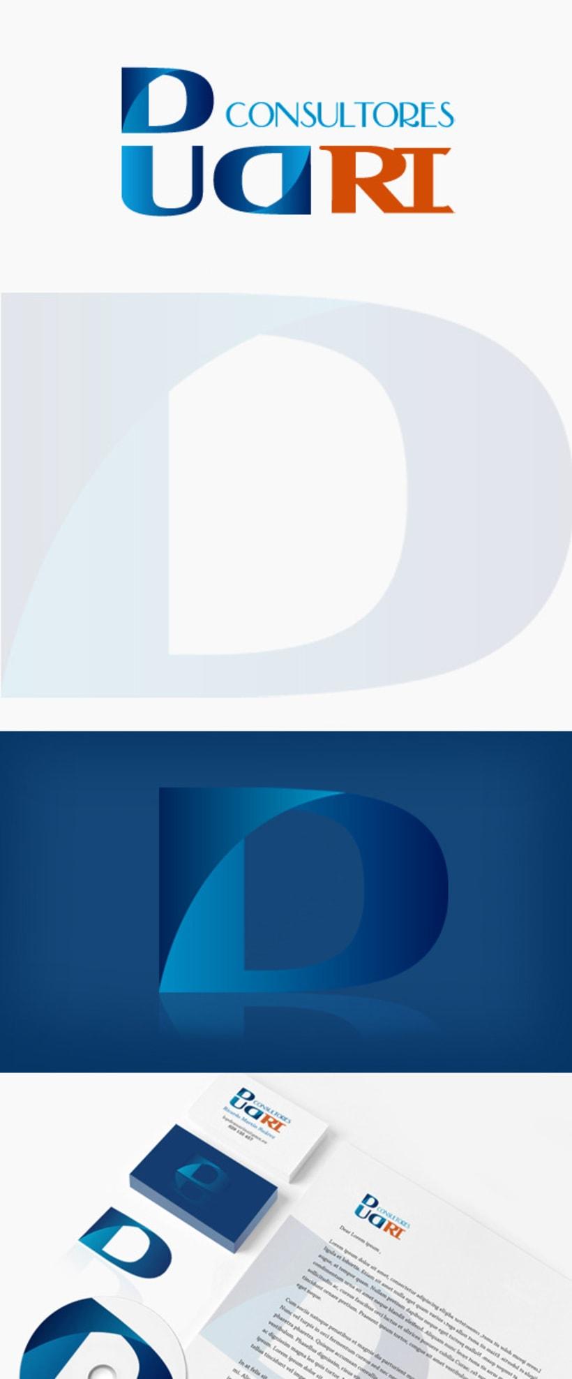 Identidad Corporativa Dud-Ri Consultores 1