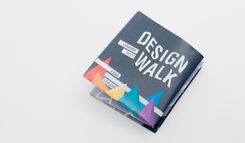 Gráfica Design Walk 2013 Logroño 1