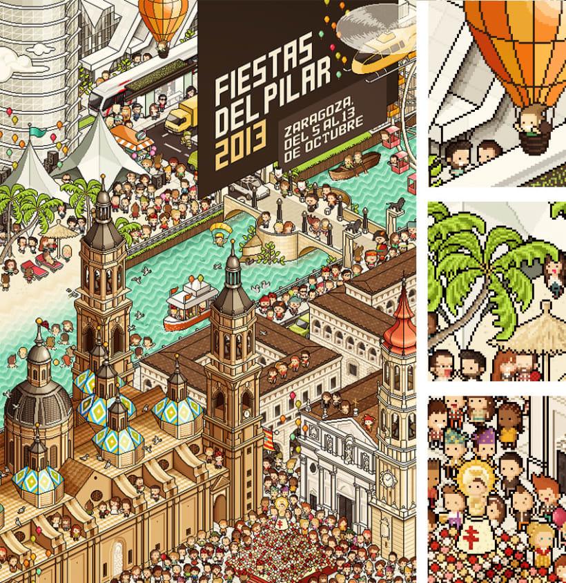 Fiestas del Pilar 2013 1