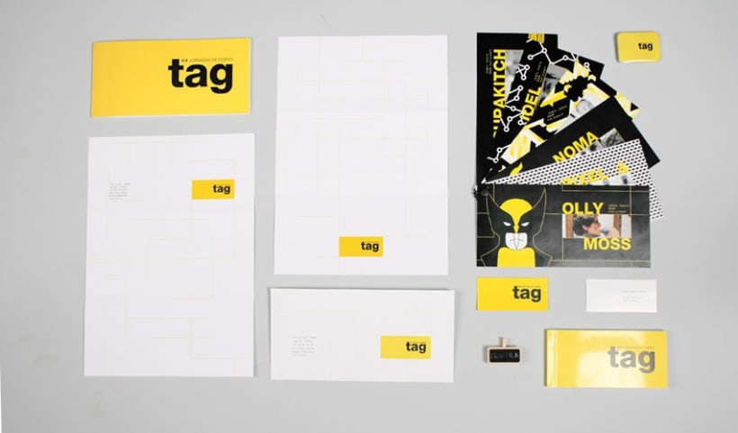 Identidad visual corporativa, TAG 6